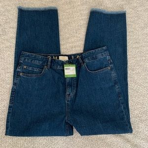 NWT Kate Spade Broome Street Raw Hem Jeans S 31